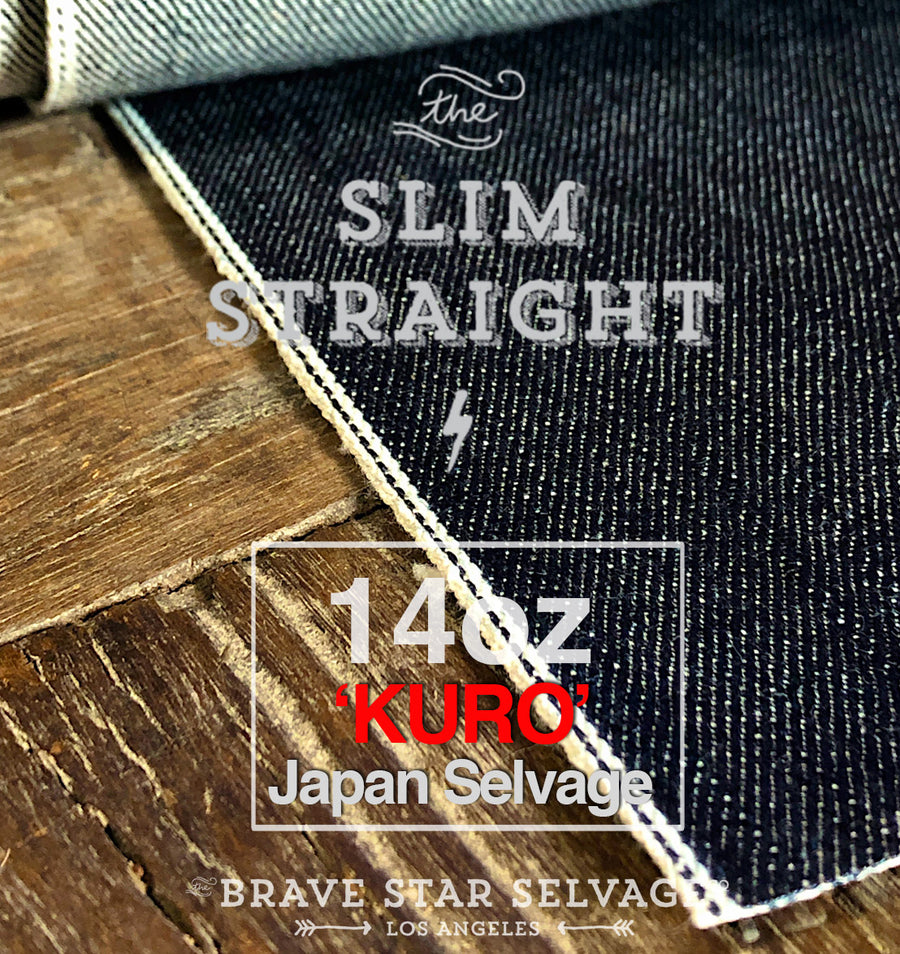 Japanese Affordable Indigo Selvedge denim Made in the USA Selvage