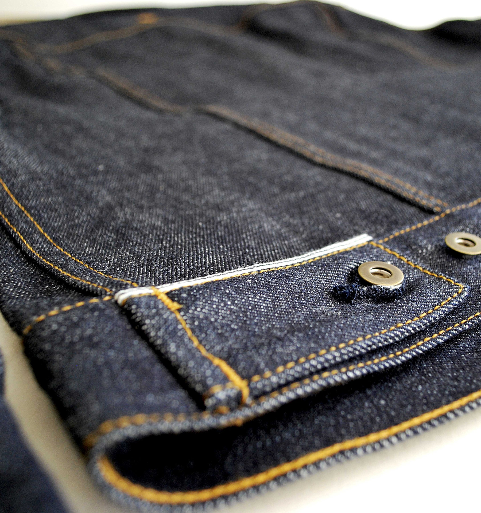The Ltd. Edition Ironside 'Supernova' 15oz  Cone Mills Selvage Denim Jacket