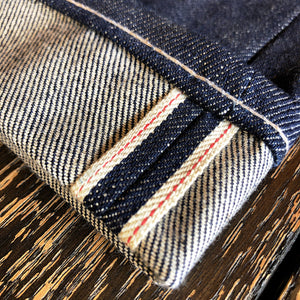 The True Straight 14oz 'Golden Handshake' Cone Mills Selvage Denim Pre Order