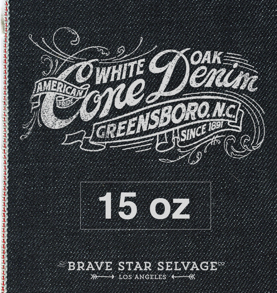 809925d0483 Slim Straight Cone Mills Selvage - Brave Star Selvage