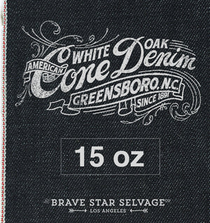 Cone Mills Selvedge Denim Made in the USA