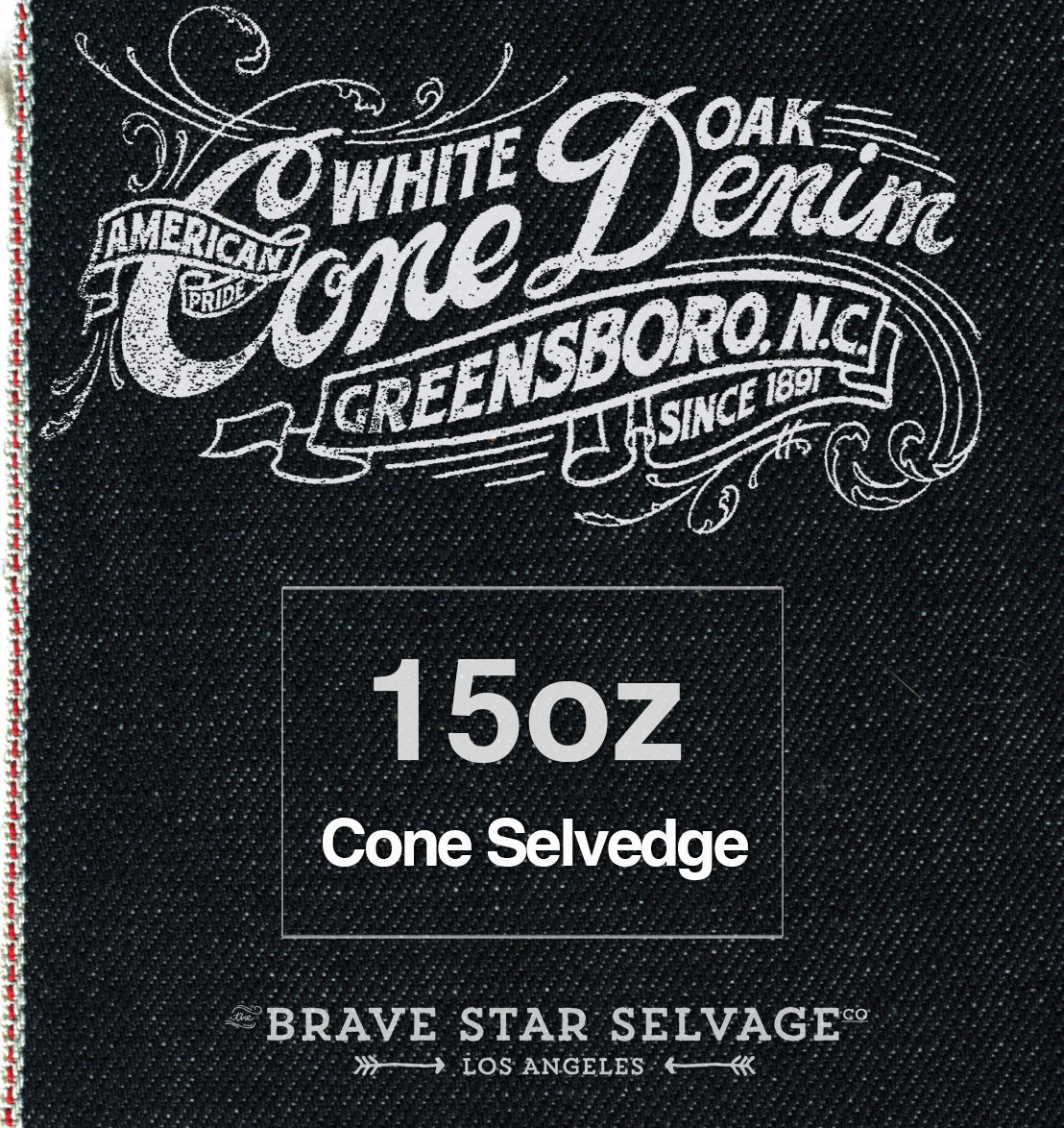 The Regular Taper 15oz Cone Mills Selvage