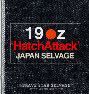 The True Straight 19oz 'Hatch Attack' Heavyweight Japan Selvage