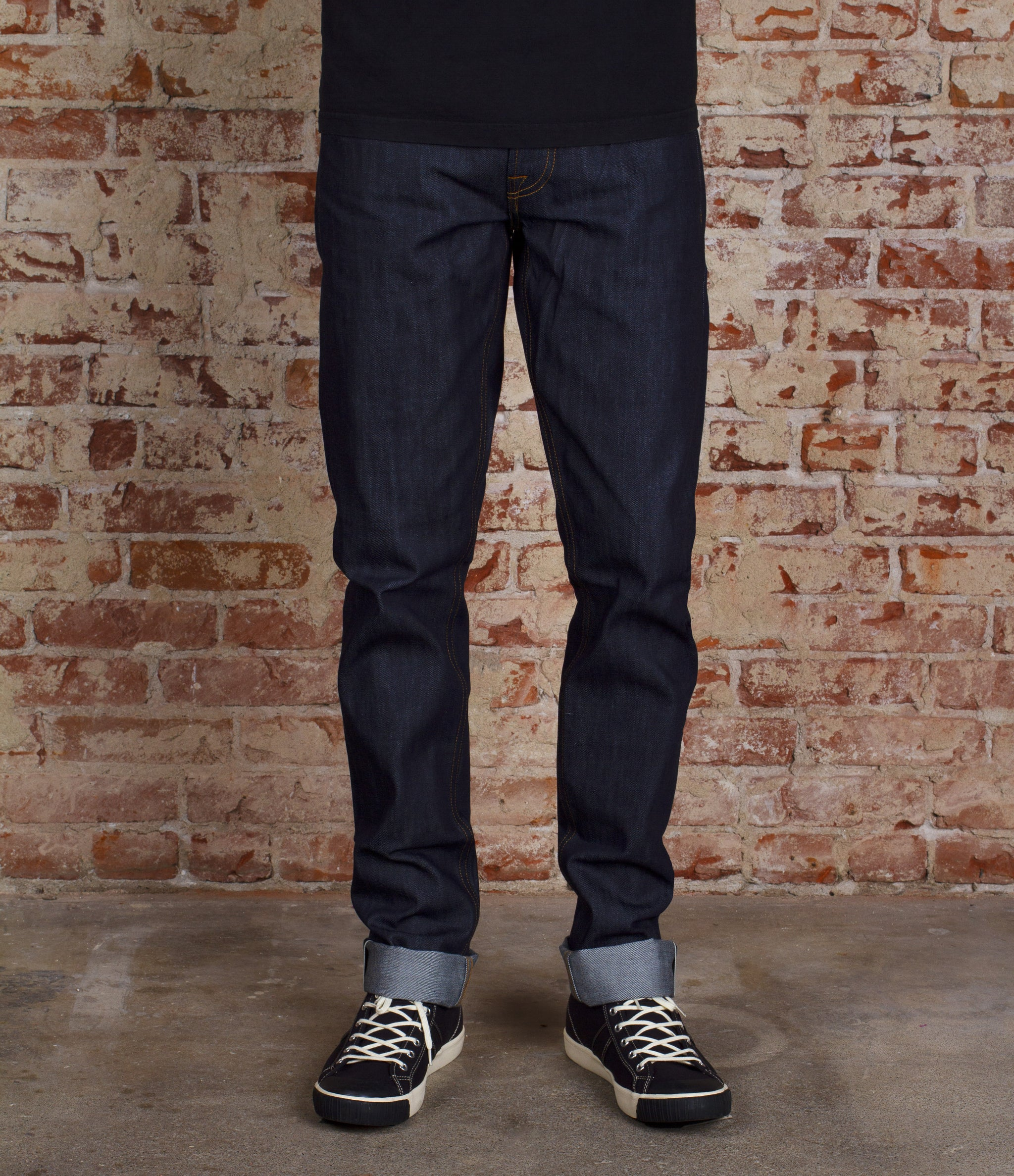 The Slim Straight 12.5oz Cone Mills 'Summer' Selvage