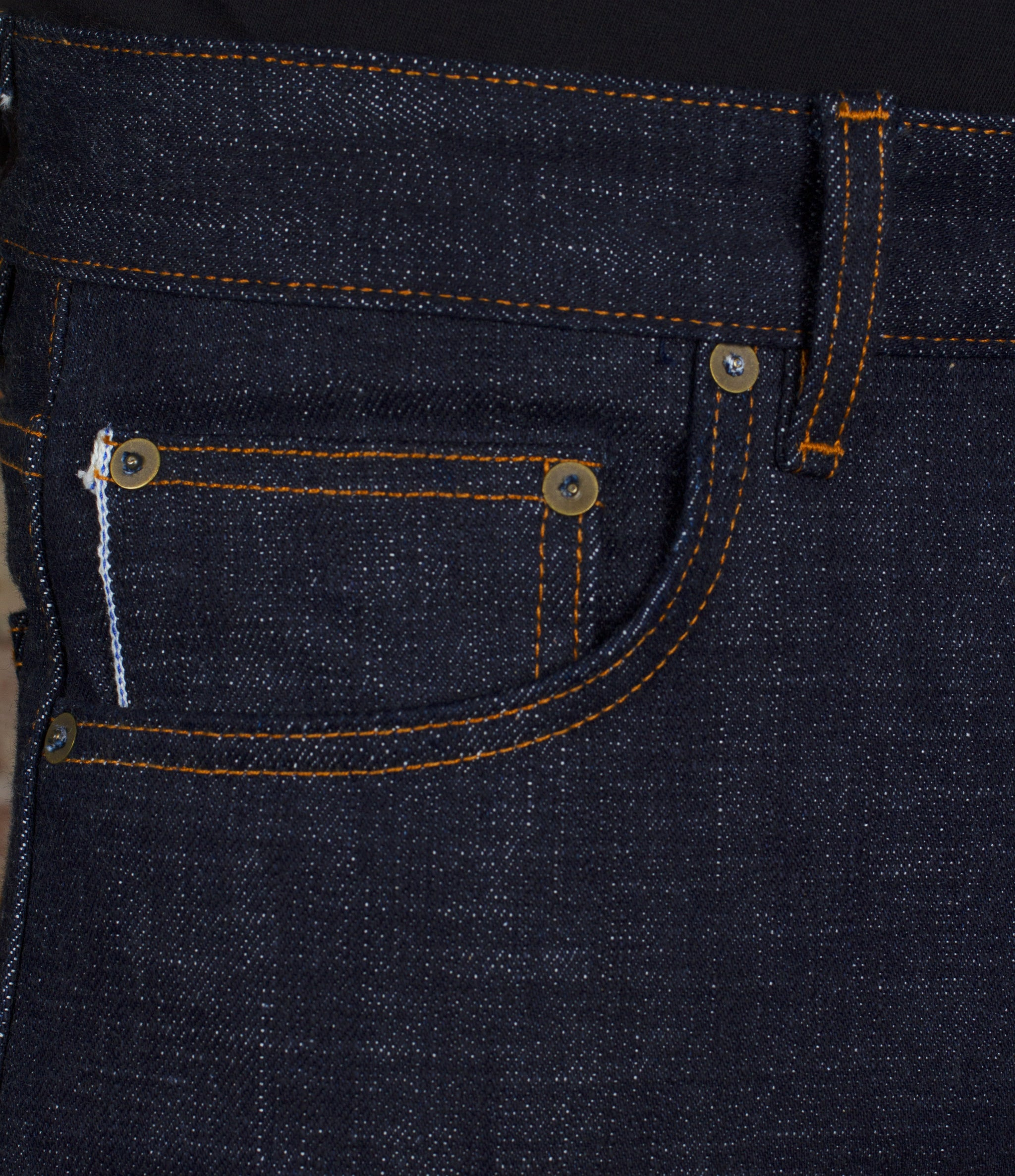 The Slim Straight 19oz 'Hatch Attack' Japan Selvage