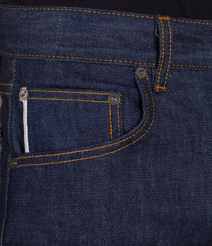 The Slim Taper 14oz 'Golden Handshake' Cone Mills Selvage Denim