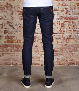 The Skeleton Skinny 13.5oz 'Blue Collar' Cone Mills Selvage