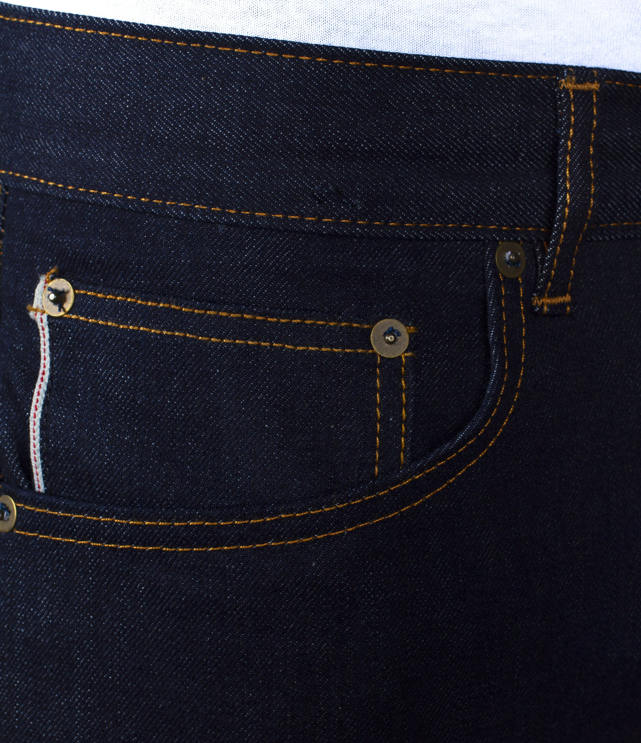 The Skeleton Skinny 13oz 'W211' Cone Mills Selvage