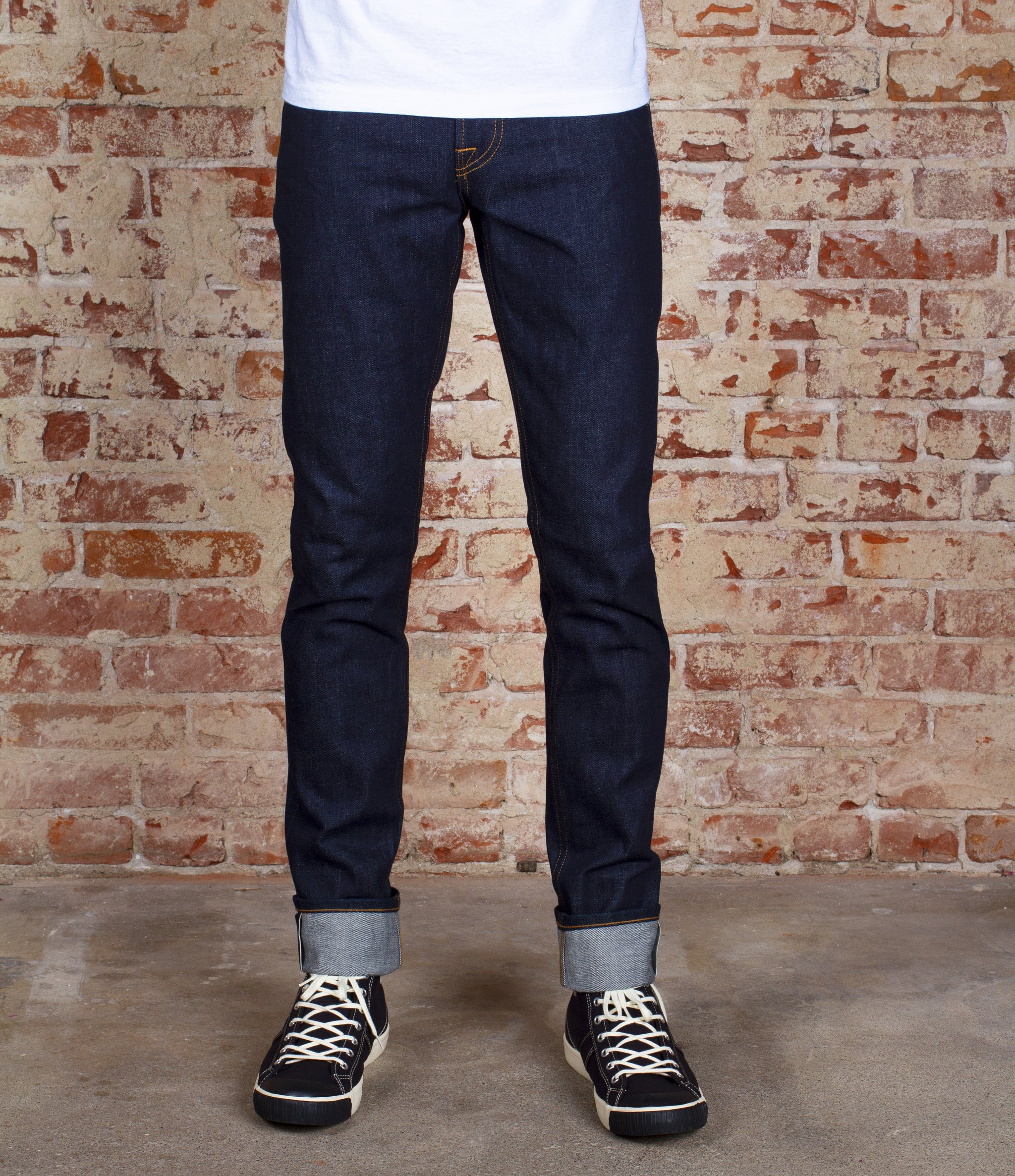 The Slim Taper 13.5oz Cone Mills 'Blue Collar' Selvage