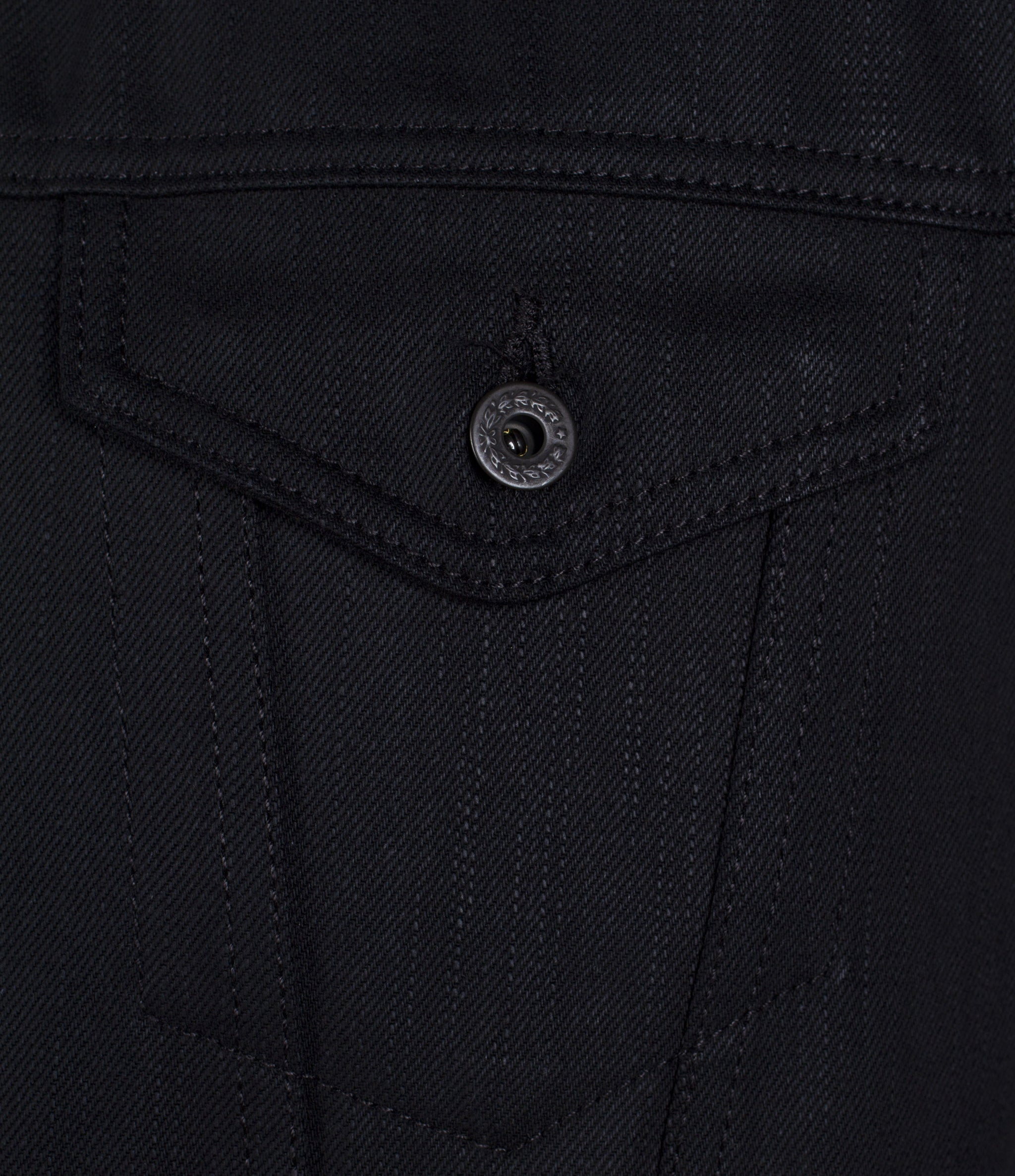 The Ironside 12.5oz Double Black Cone Mills Selvage Jacket Pre Order
