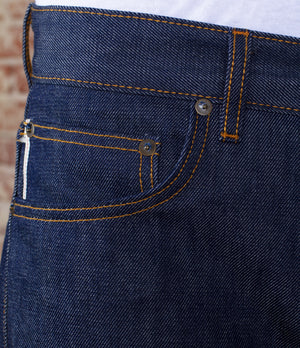 The Slim Straight 14oz 'Golden Handshake' Cone Mills Selvage Denim
