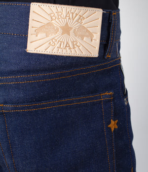 The Slim Taper 2.0 13.5oz Cone Mills 'Liberty Blue' Stretch Selvage Denim