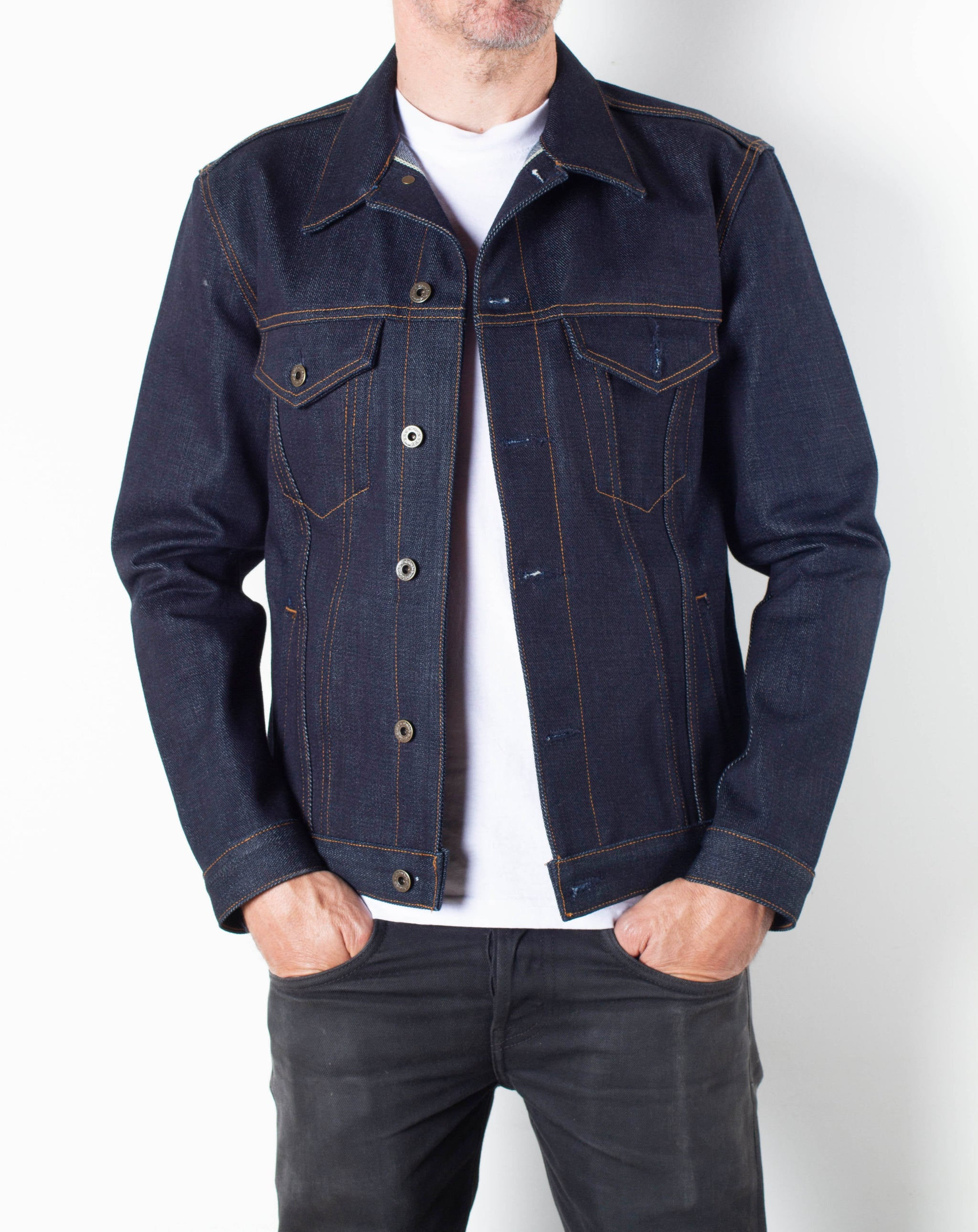 The Ironside 18oz 'Slubverter II' Heavyweight Selvage Denim Jacket