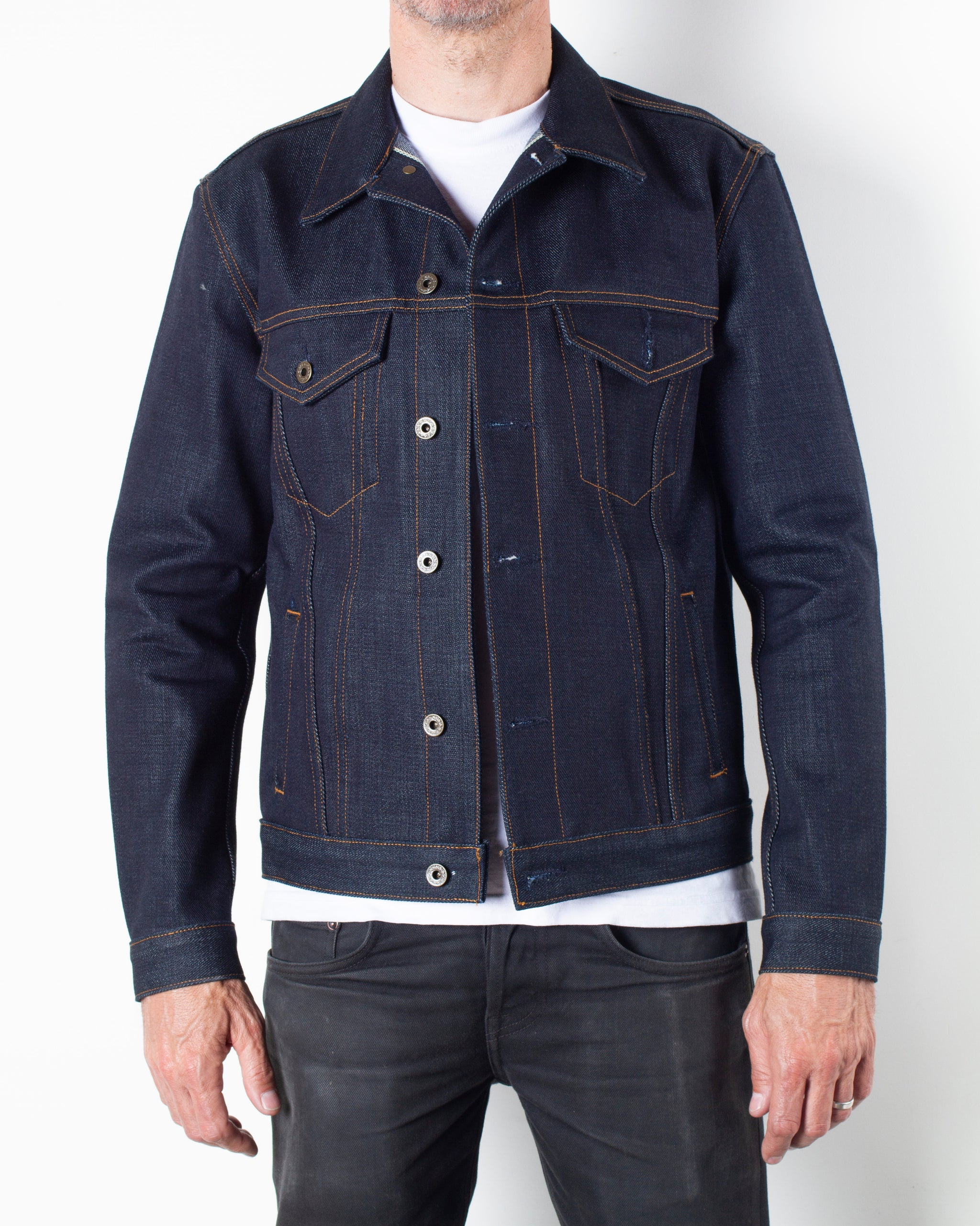 The Ironside 21.5oz Heavyweight Selvage Denim Jacket