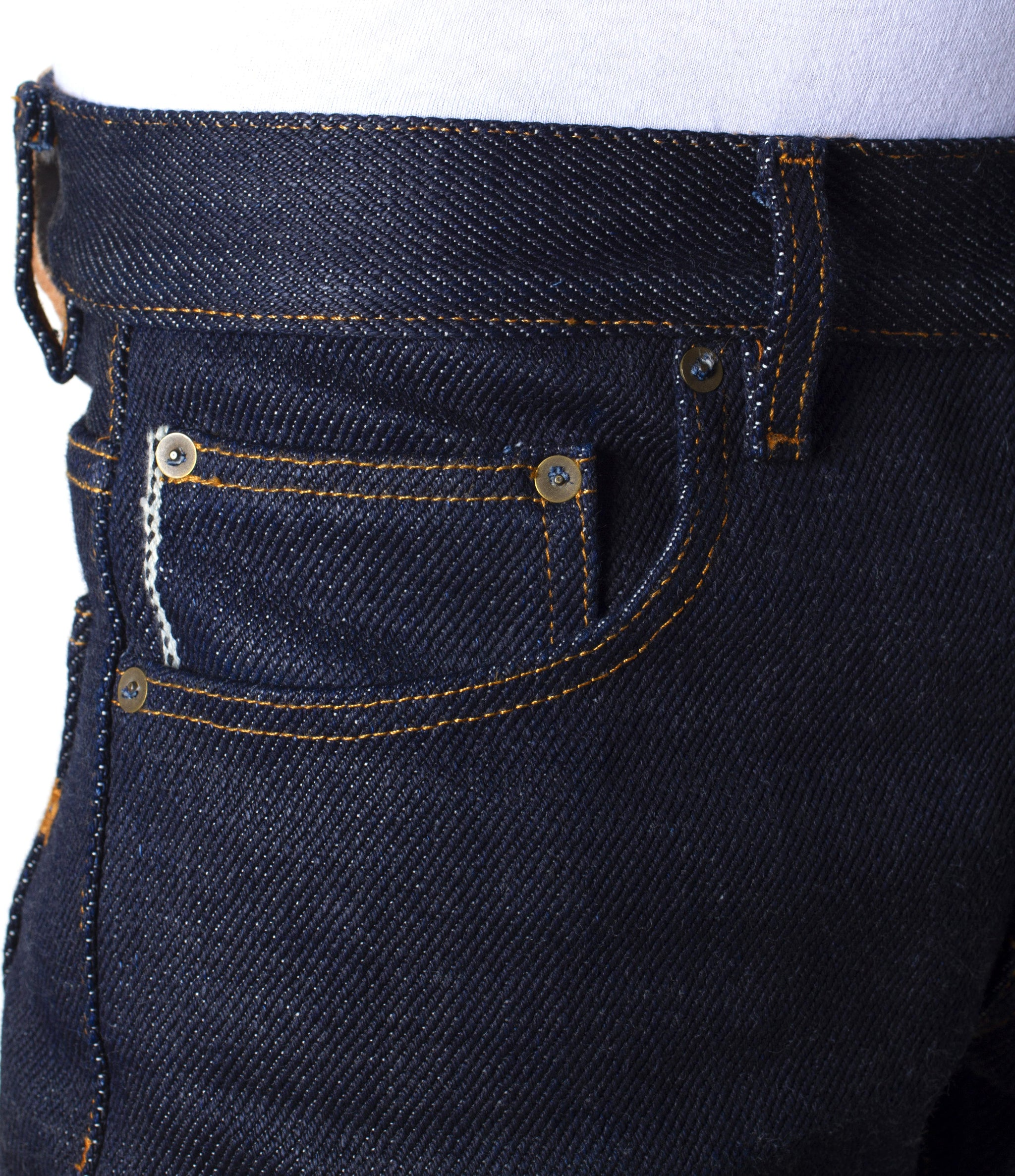 The Slim Straight 21.5oz Heavyweight Selvage