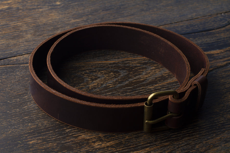 The Chestnut Leather Belt