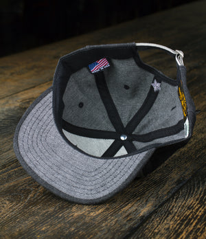 Brave Star x Cone Mills Selvage Denim Hat w/Patch