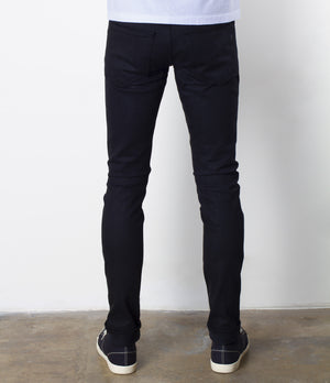 The Slim Taper 2.0 13oz 'Budokan' Black Power Stretch Selvage Denim