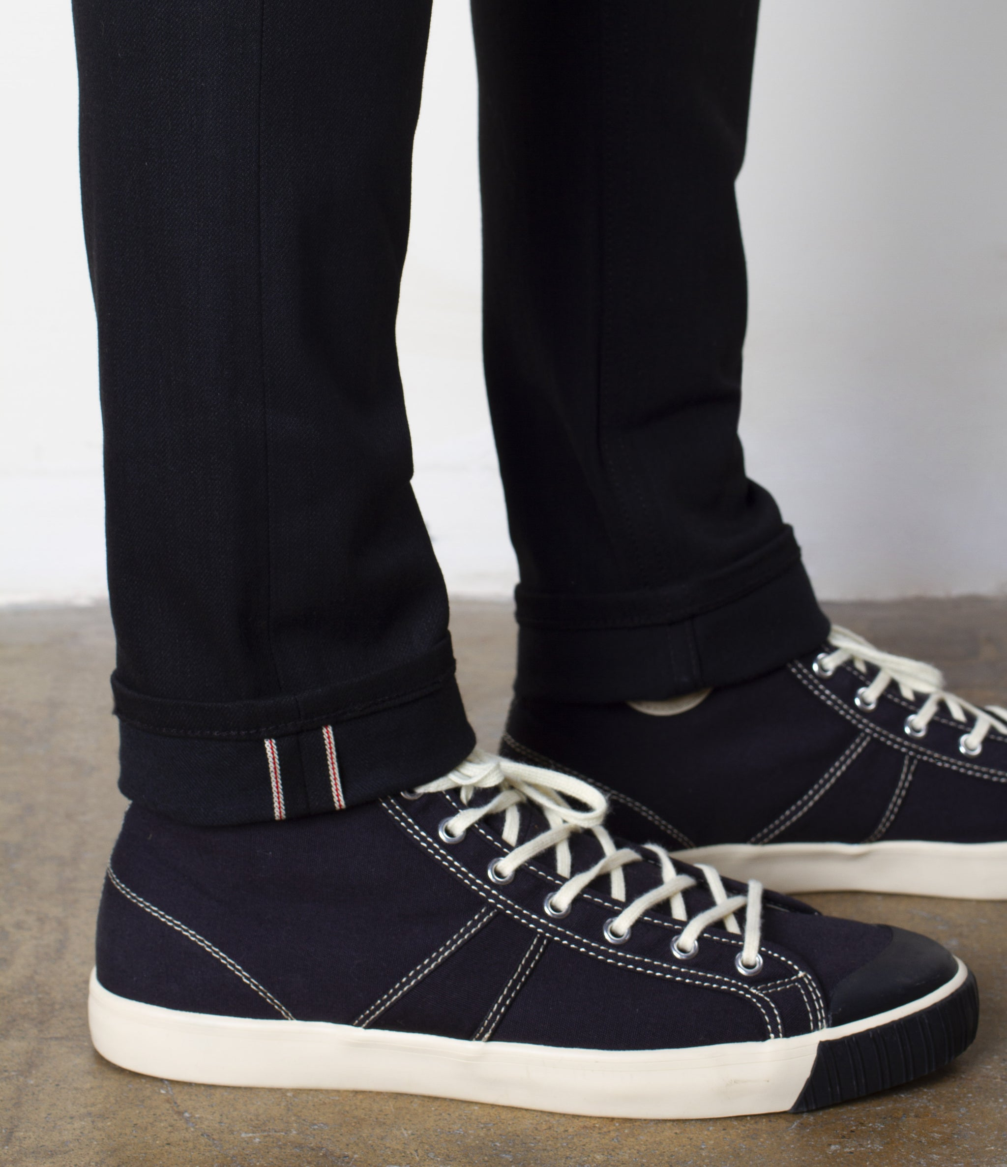 The Slim Taper 12.5oz 'Budokan Black' Stretch Selvage Denim
