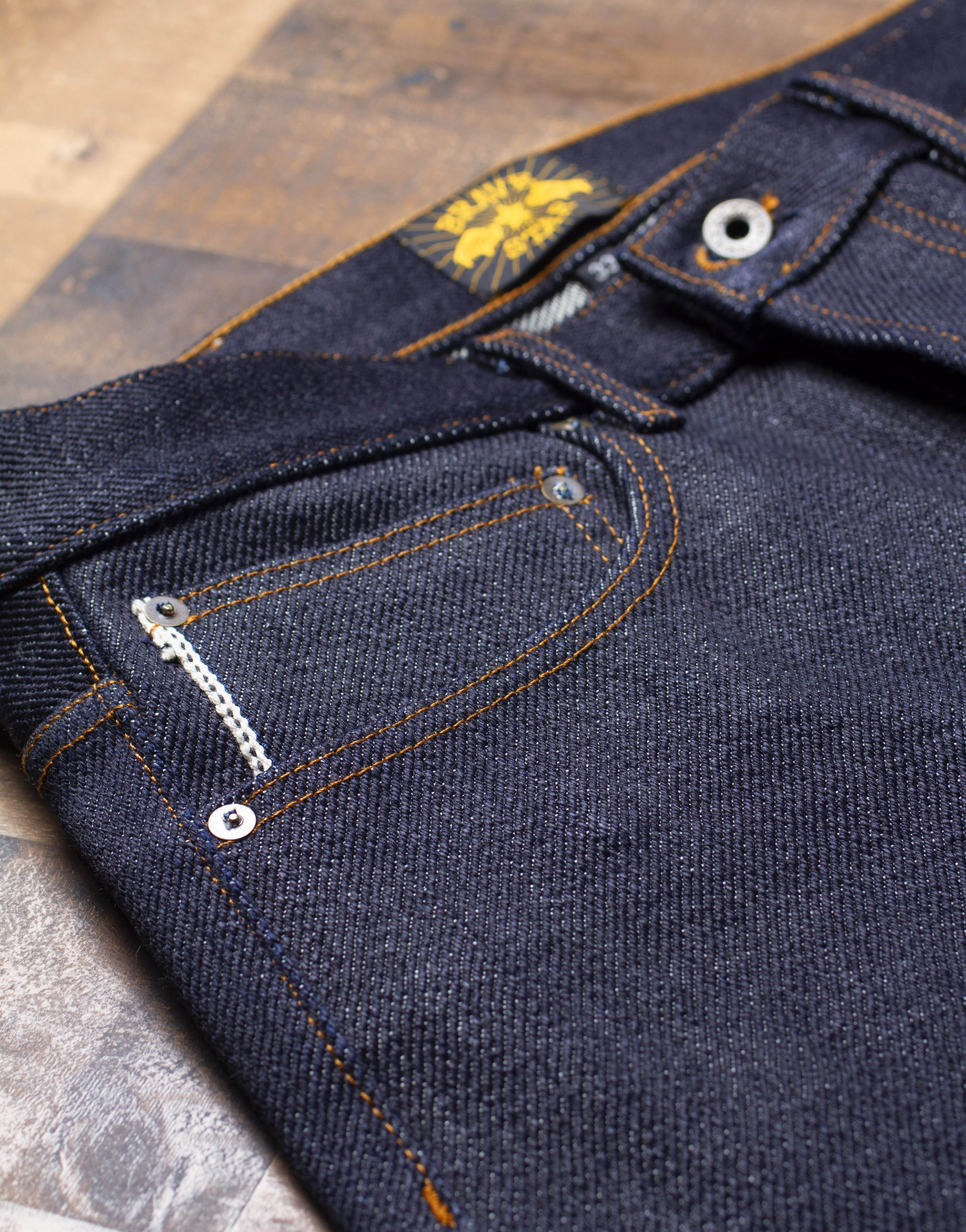 Super Heavyweight Japanese Selvedge Denim