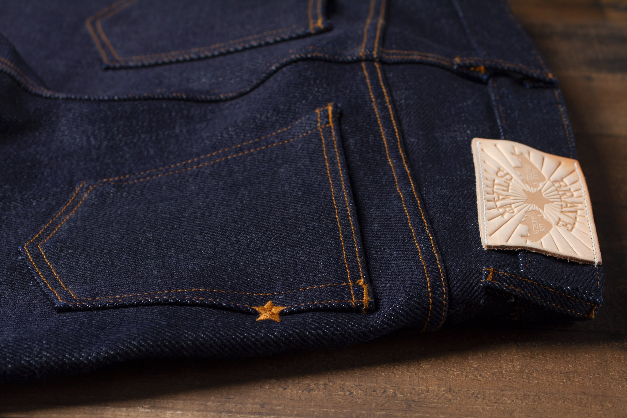 Made In The USA Super Heavyweight Japanese Selvedge Denim