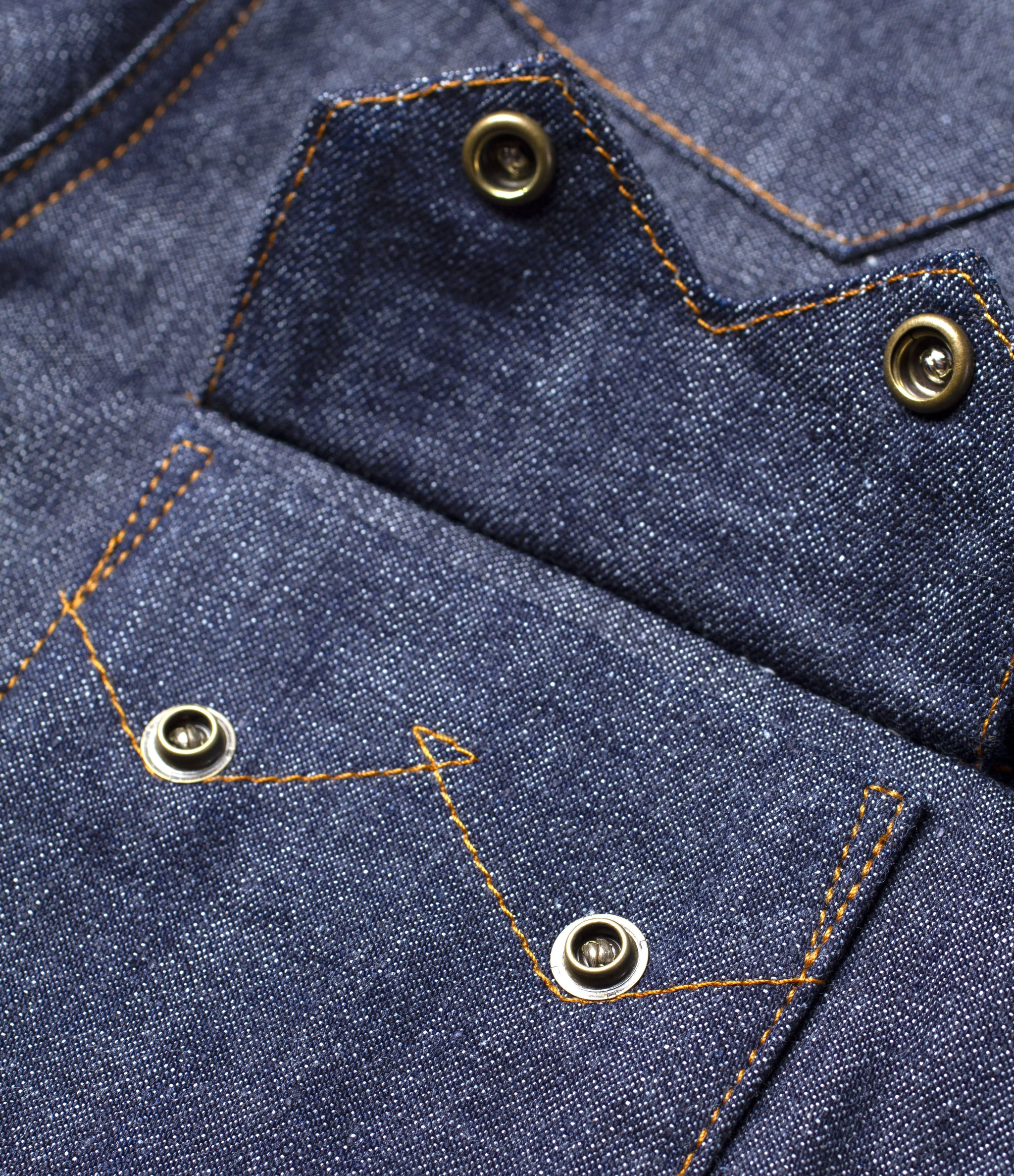 The Sawtooth Style Denim Shirt Pre Order II