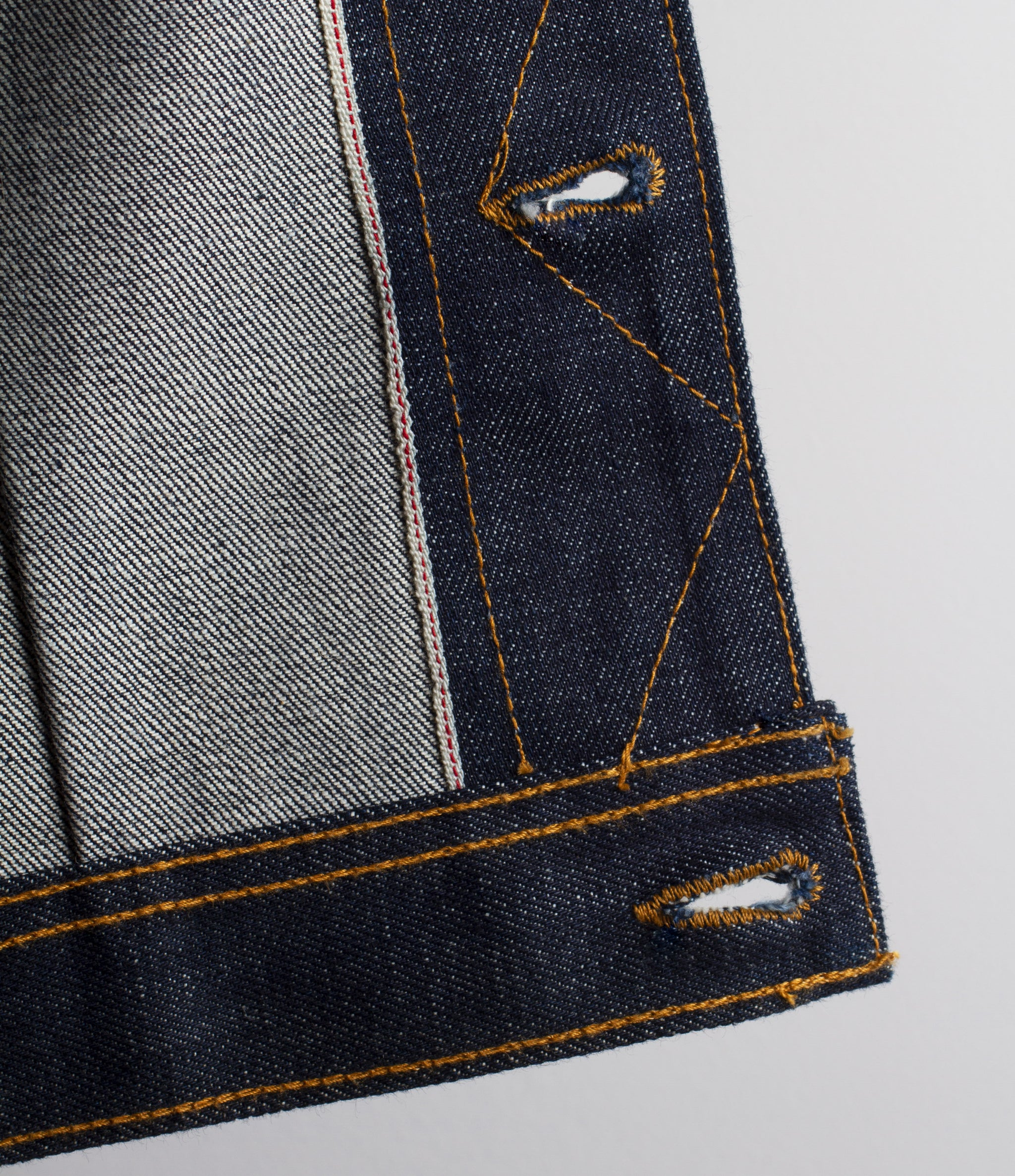 The Steadfast 15oz 'Blue Bell' Selvage Denim Jacket