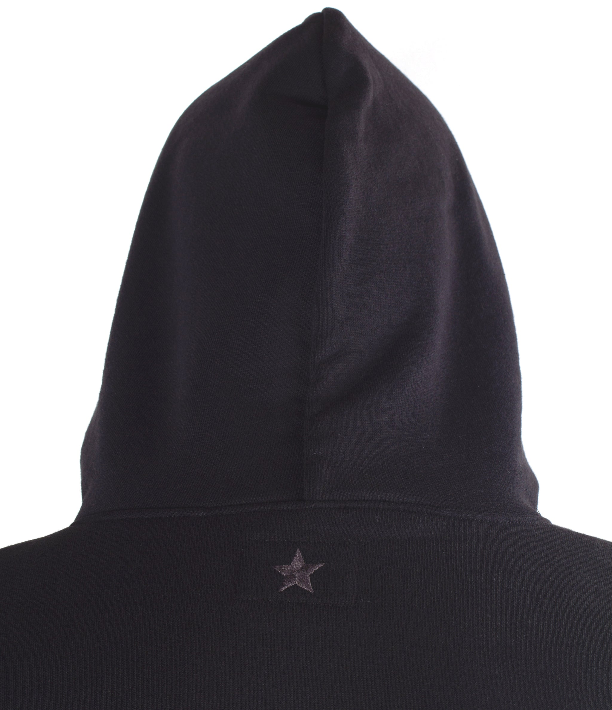 Glory Days 20oz Ultra Heavyweight Black Fleece Zip Front Hoodie