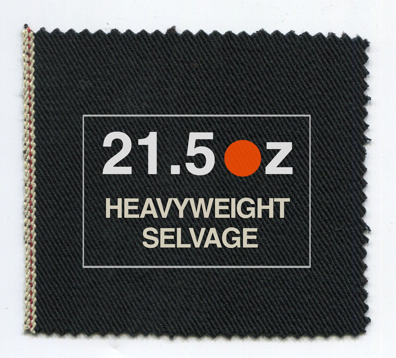 The True Straight 21.5oz Heavyweight Double Black Selvage