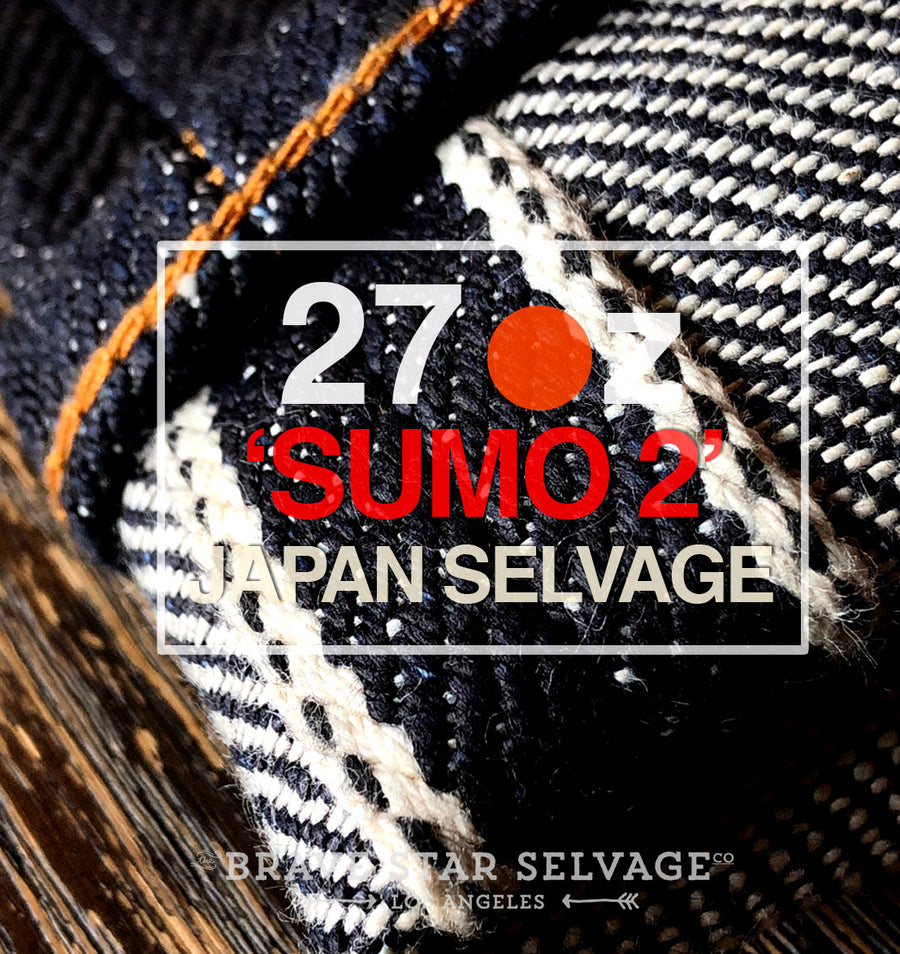 The Slim Straight 27oz 'SUMO 2' Heavyweight Japan Selvage