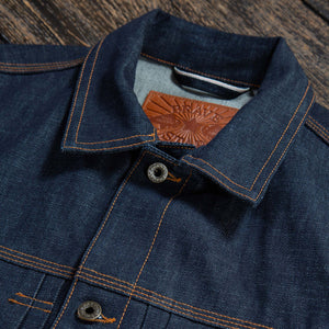 The Badlands Denim Jacket in 13oz 'Blue Collar' Cone Mills Selvage Pre Order