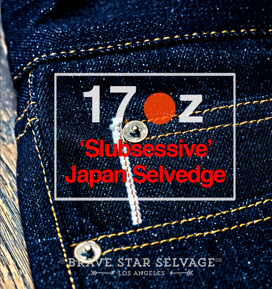 The True Straight 17oz 'Slubsessive' Japan Selvage