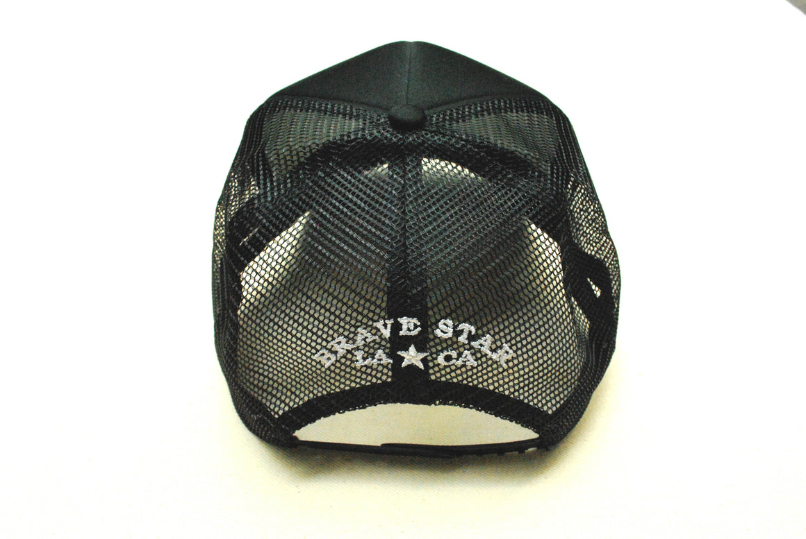 Built By Brave Star Mesh Snapback