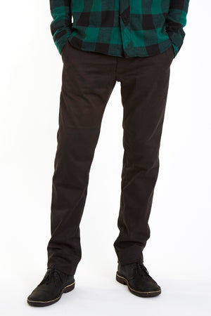 The Tapered Selvage Chino/Black
