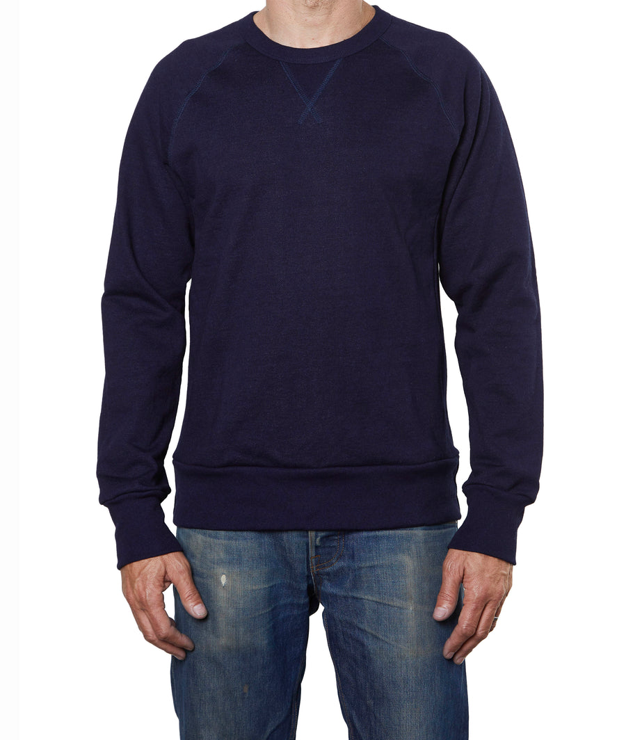 Glory Days Indigo Crew Sweatshirt