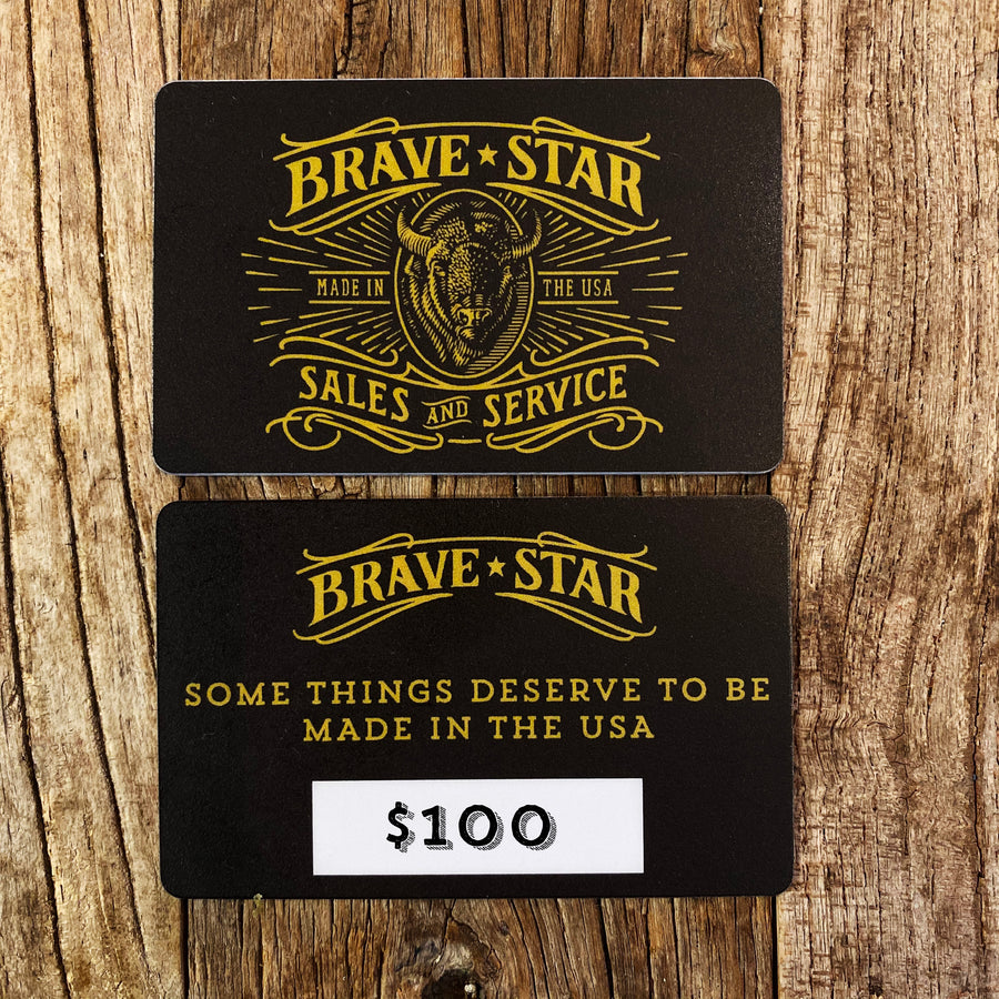 Brave Star Gift Card