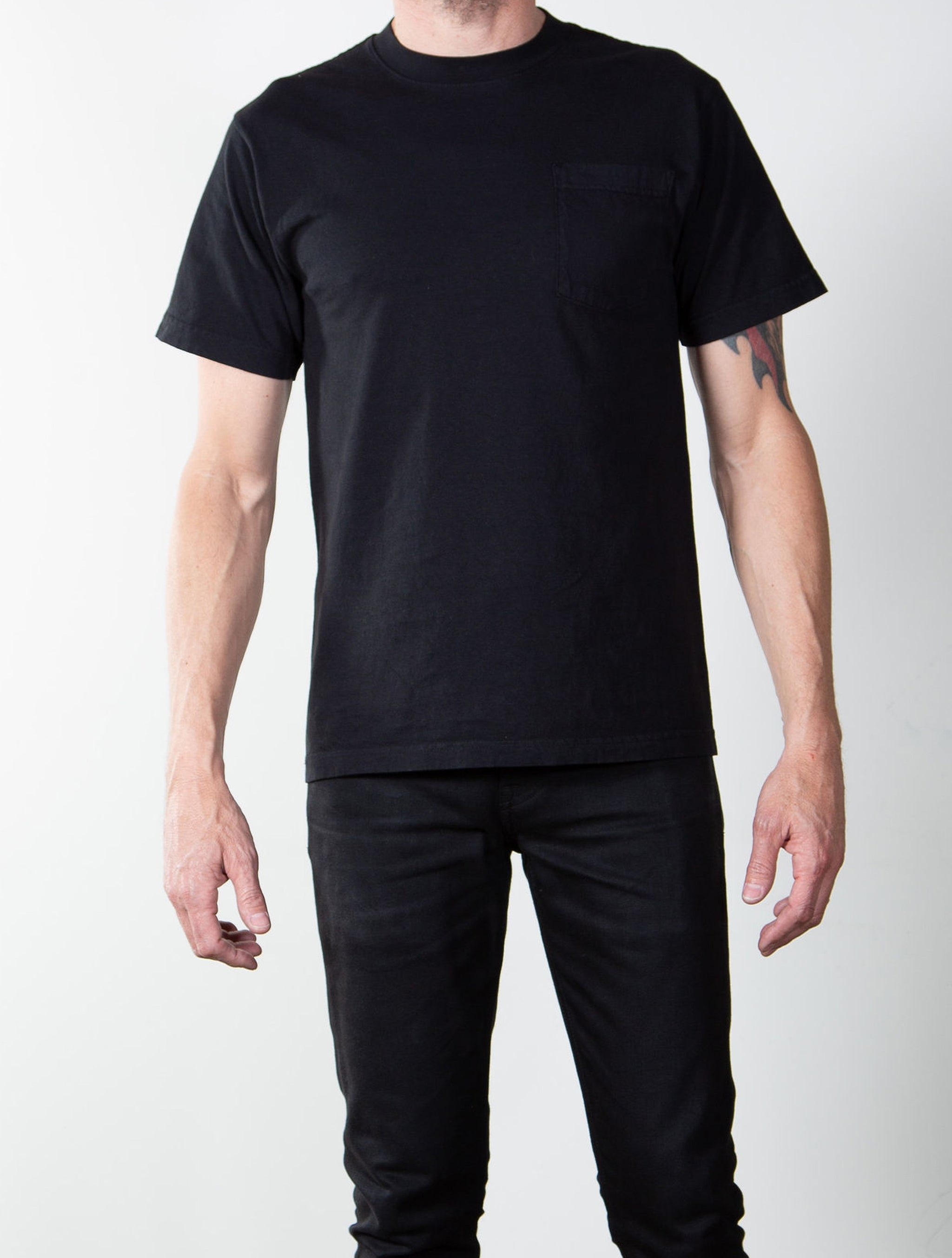 6.5oz Heavyweight 'Glory Days' Tubular Pocket T-Shirt Single Pack