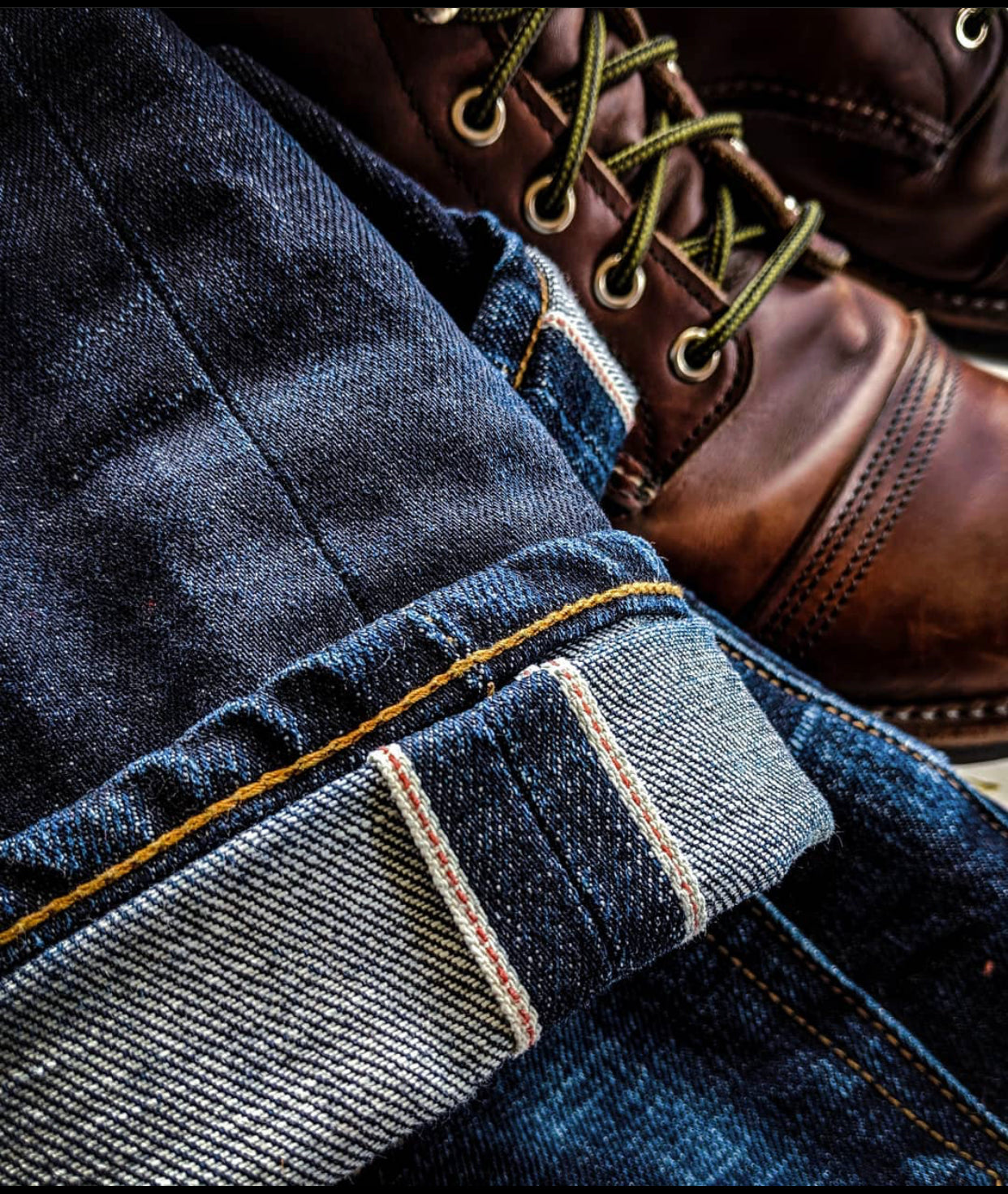 The True Straight 15oz Cone Mills Selvage