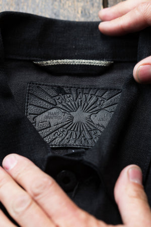 The Ironside 15oz Double Black Japan Selvage Denim Jacket