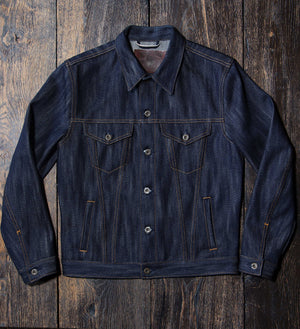 The Ironside 22oz 'Slubnoxious 2' Heavyweight Selvage Denim Jacket Pre Order