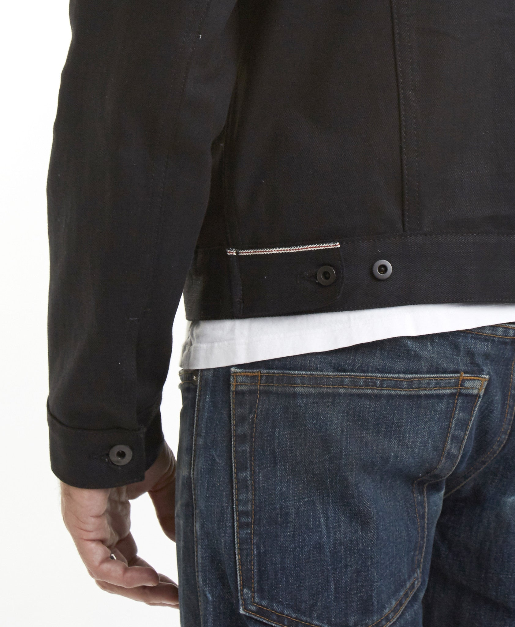 The Ironside 15oz 'Black Metal' Japan Selvage Denim Jacket