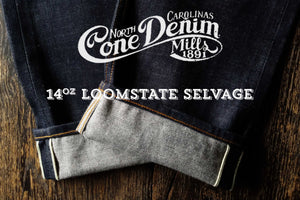 The True Straight 14oz ' Loomstate' Cone Mills Selvage
