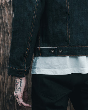 The Ironside 17oz 'Slubsessive' Heavyweight Selvage Denim Jacket