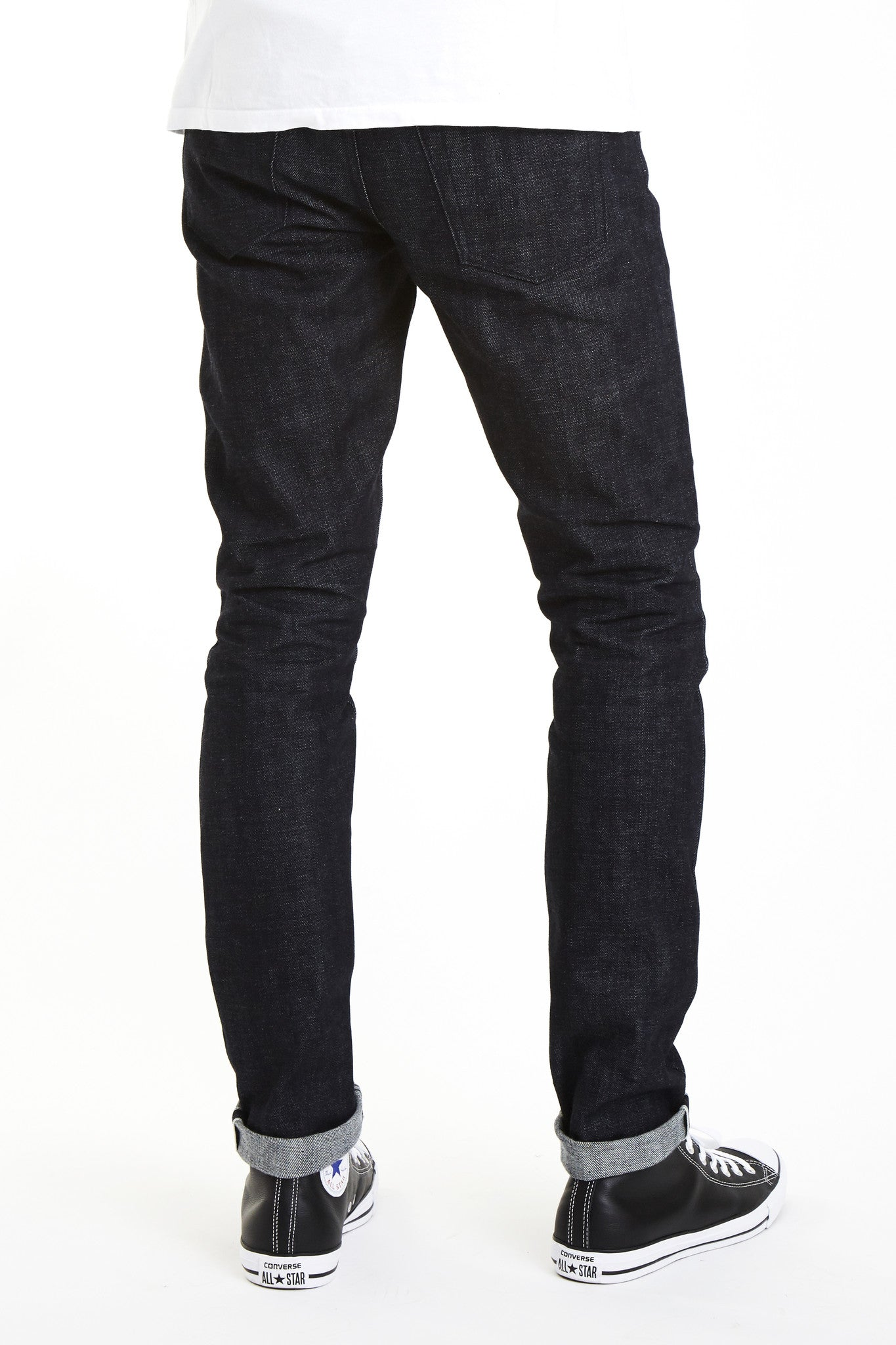 4d89bbe8a390 The Slim Straight 14oz   Kuro  Japan Selvage - Brave Star Selvage