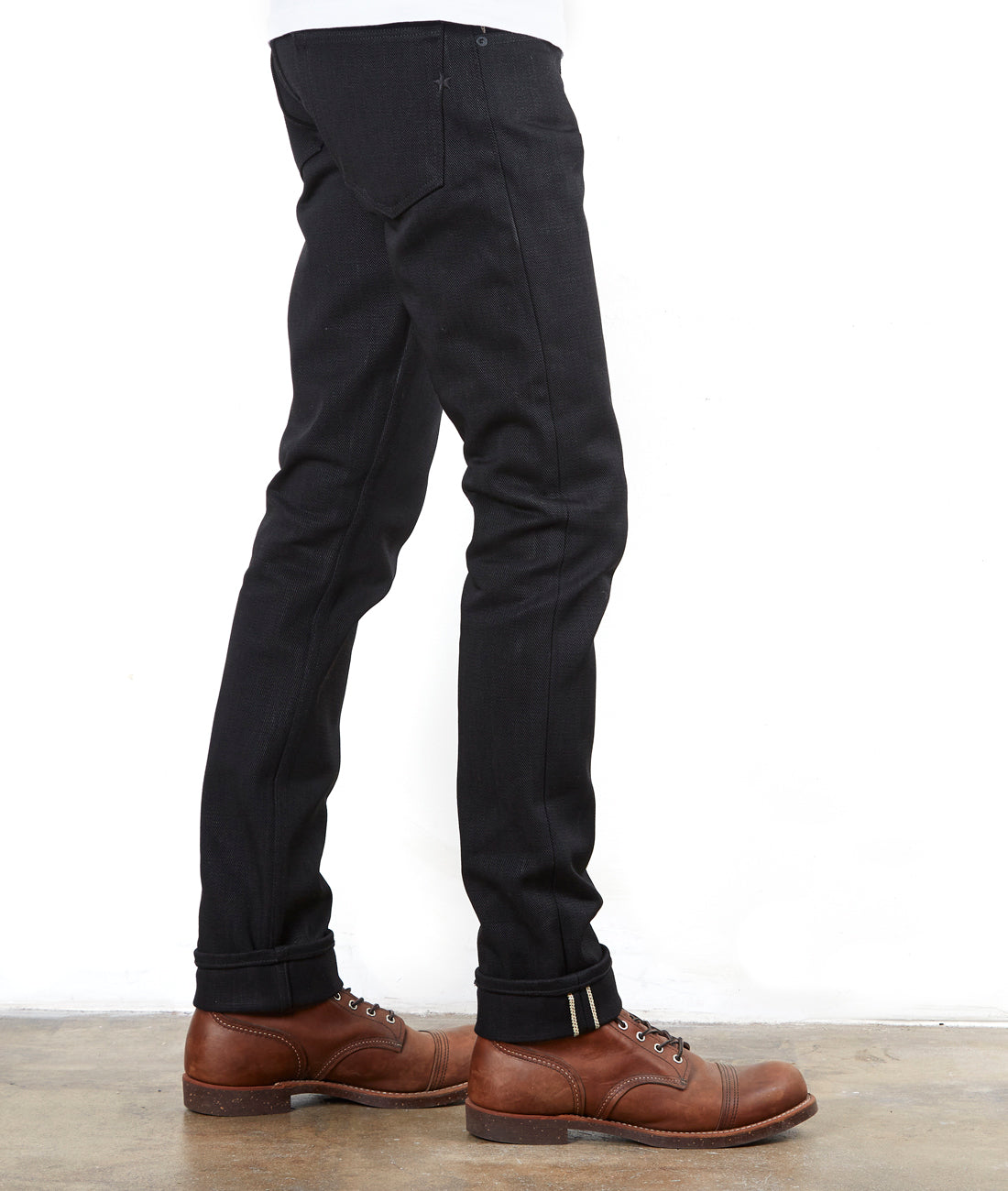 The Slim Straight 21.5oz Heavyweight Double Black Selvage Pre Order