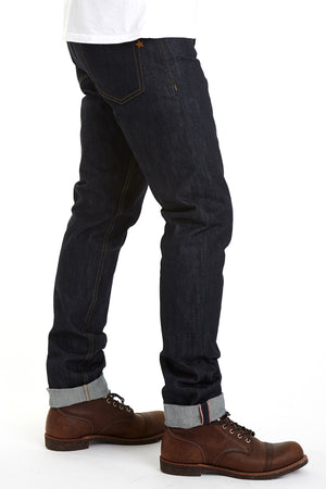 The Slim Straight 18.5oz Super Heavyweight Selvage