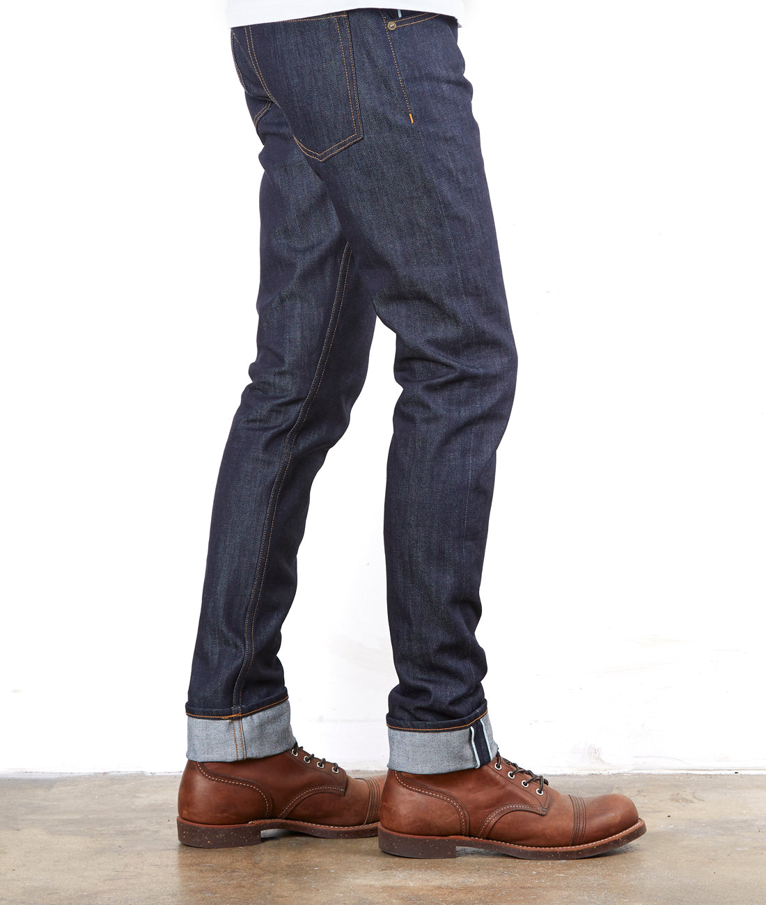 The Slim Taper 12oz 'Woodsman' Cone Mills Selvage Denim