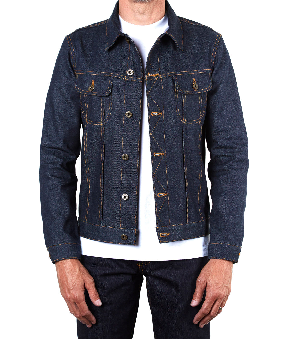 The Steadfast 12.5oz 'Imperial' Japan Selvage Denim Jacket