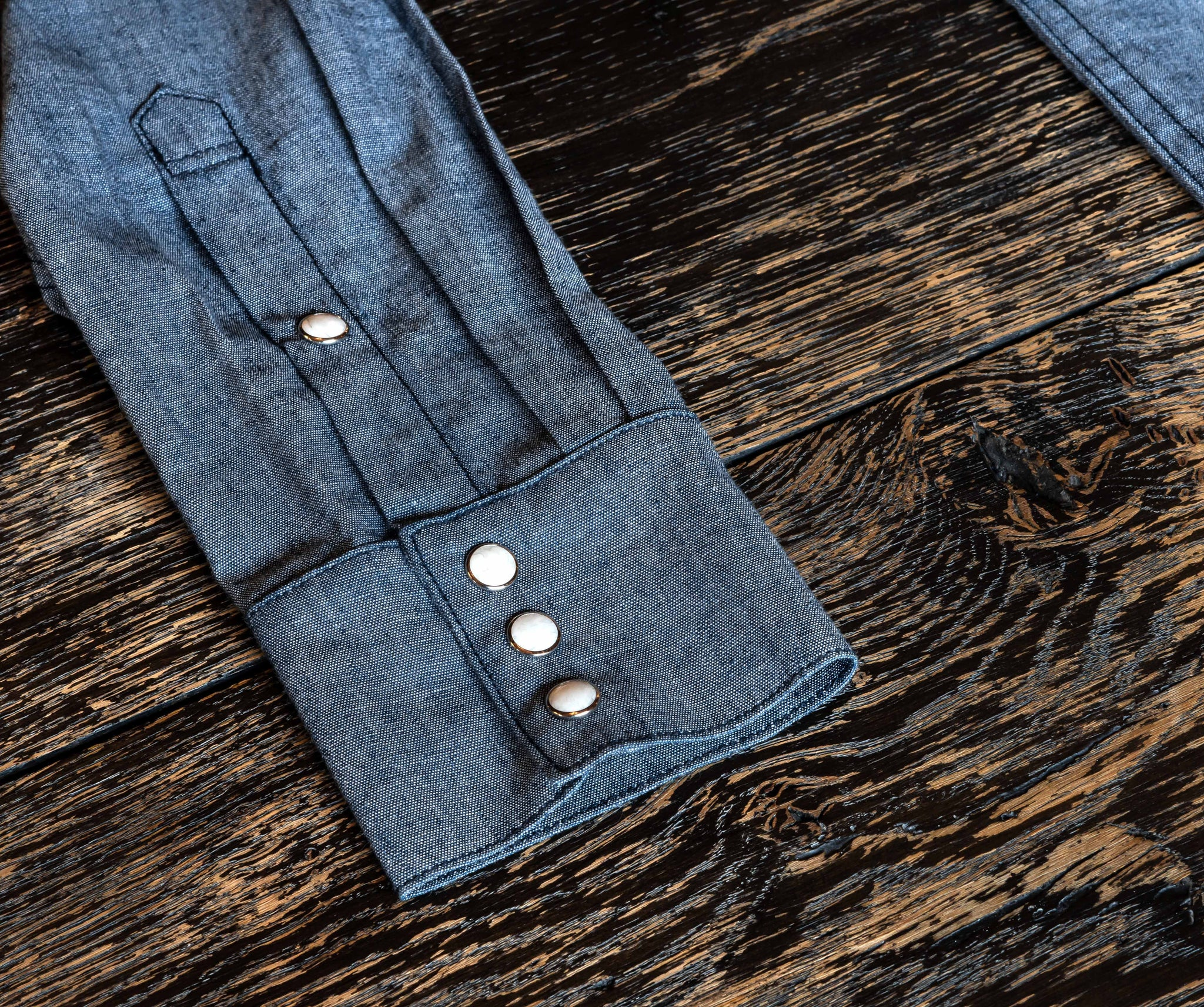 The Sawtooth Chambray Shirt Pre Order