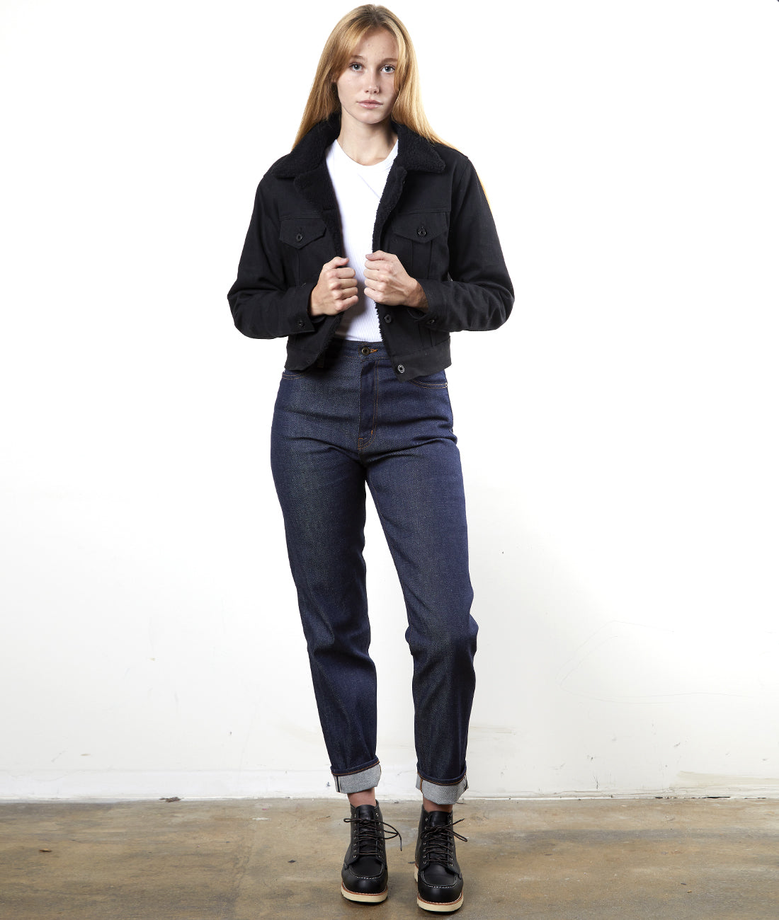 The Settler - Womens Sherpa Selvage Jacket